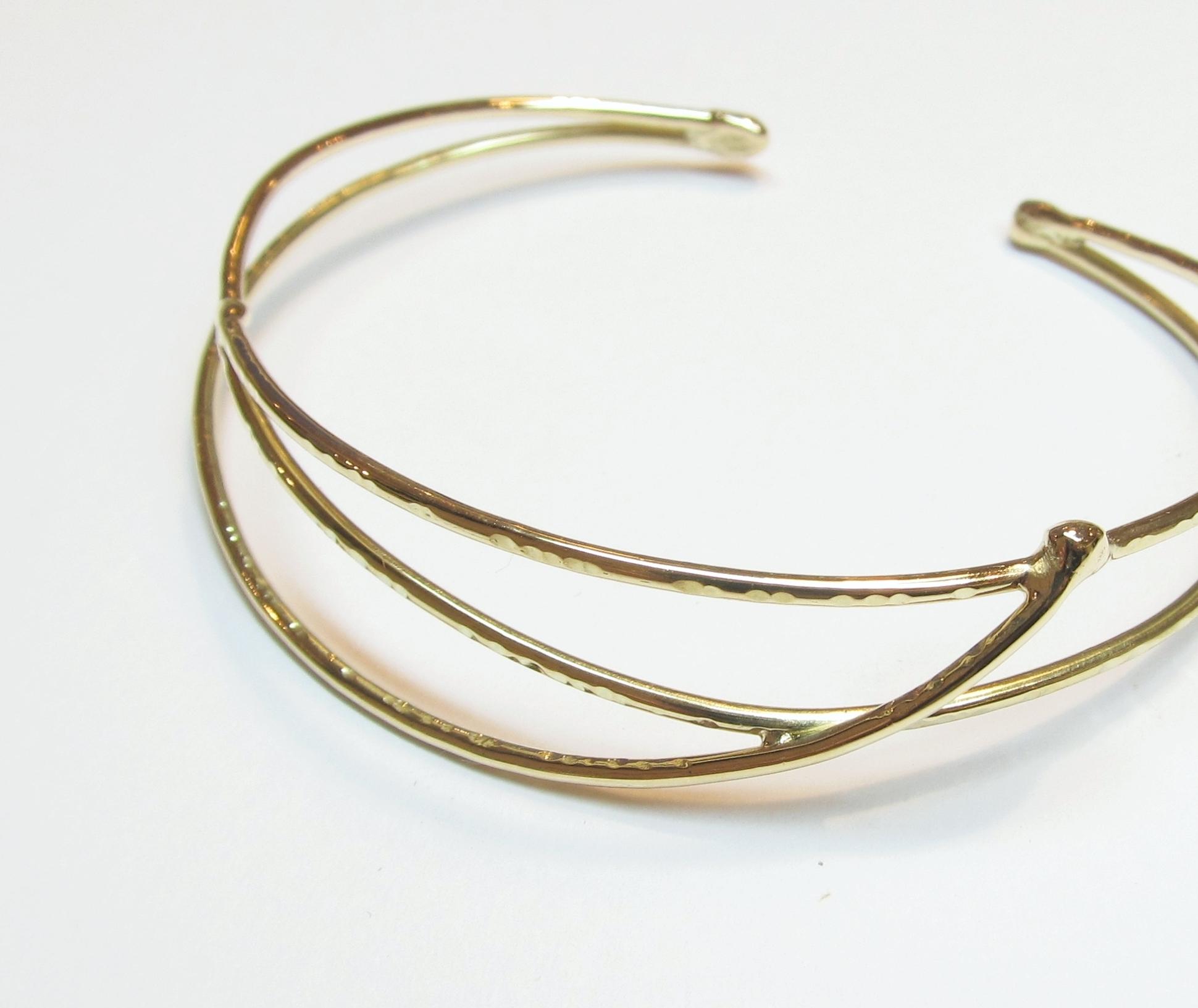 Armband 'Sway' <br> 14k geelgoud